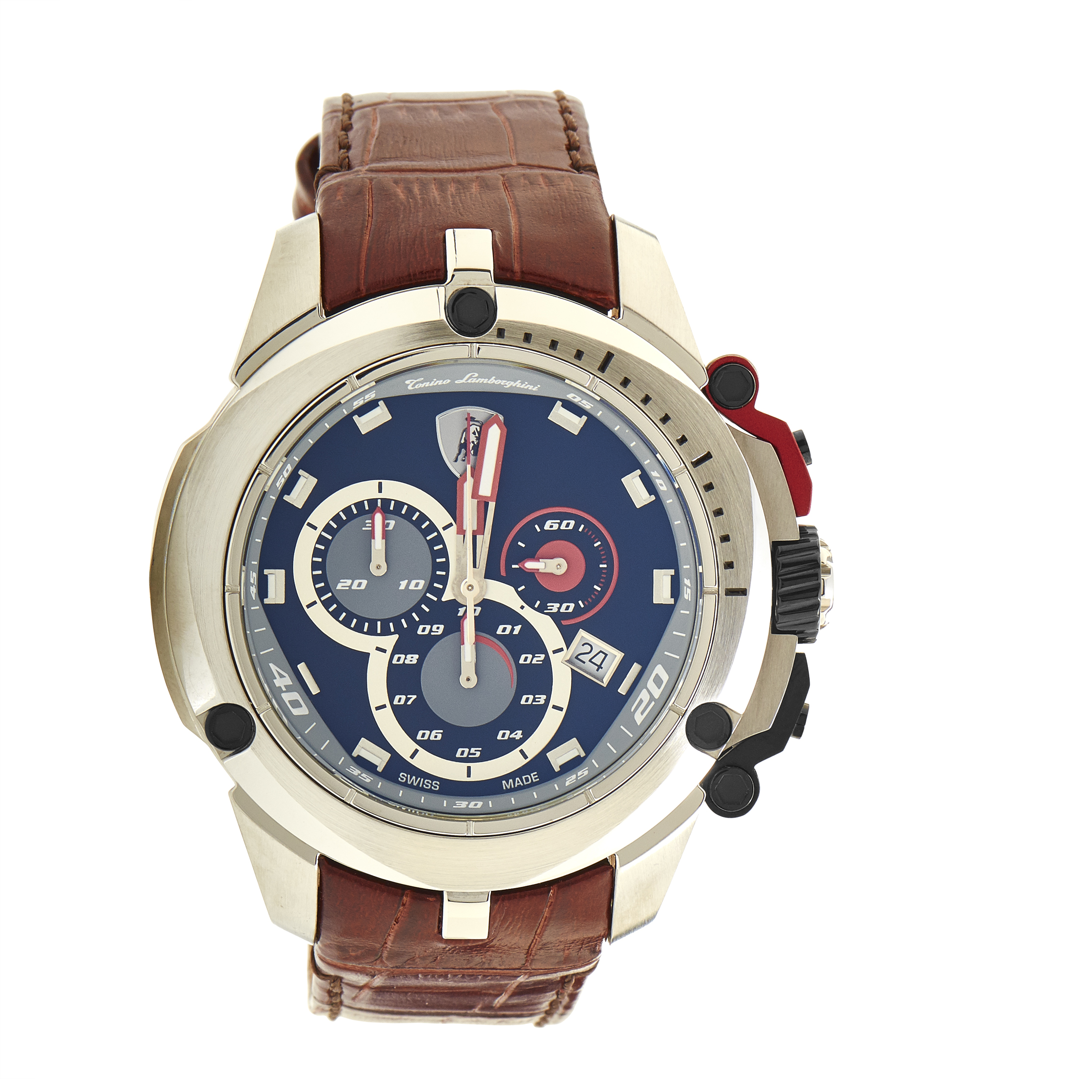 Shield Series Men's Quartz Chronograph Watch 7803