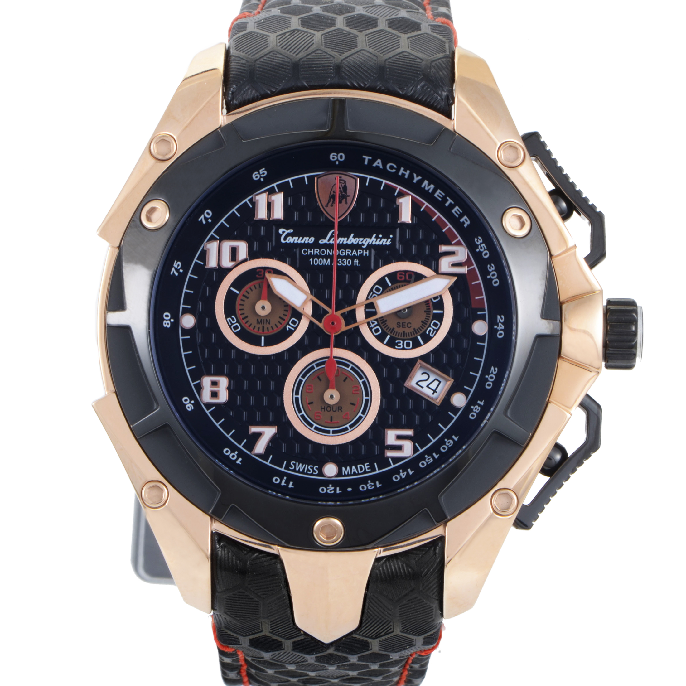 Spyder Men's Quartz Chronograph Watch 3400 3404