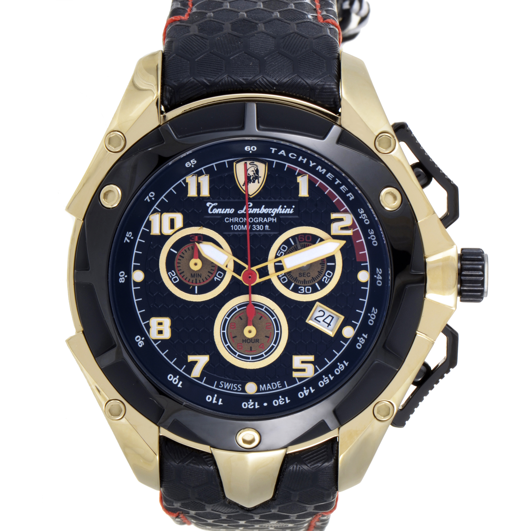 Spyder Men's Quartz Chronograph Watch 3400 3405