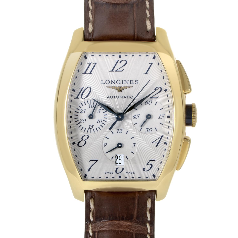 Evidenza Mens Yellow Gold Quartz Watch L2.643.6.73.2
