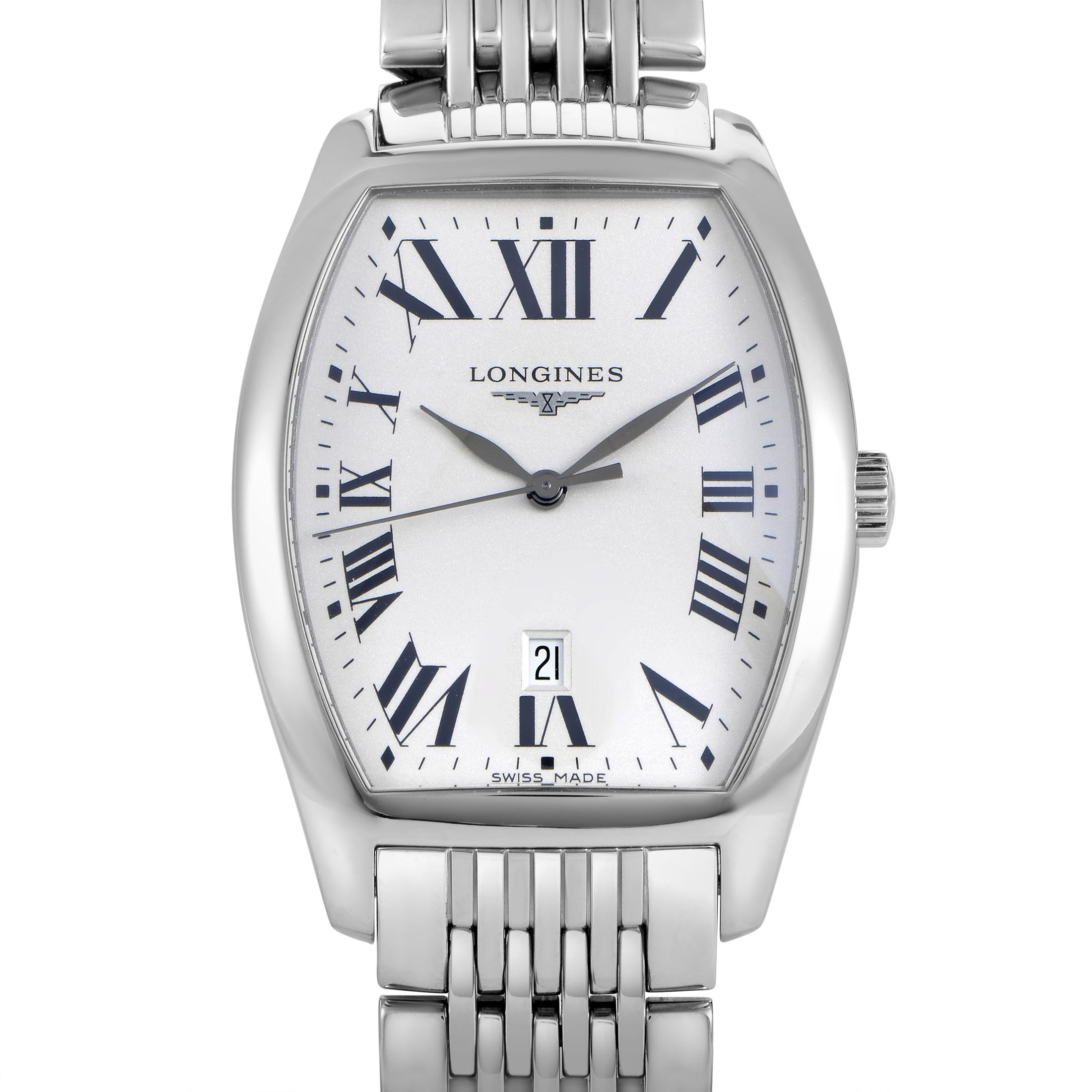 Evidenza Men's Stainless Steel Quartz Watch L2.655.4.71.6