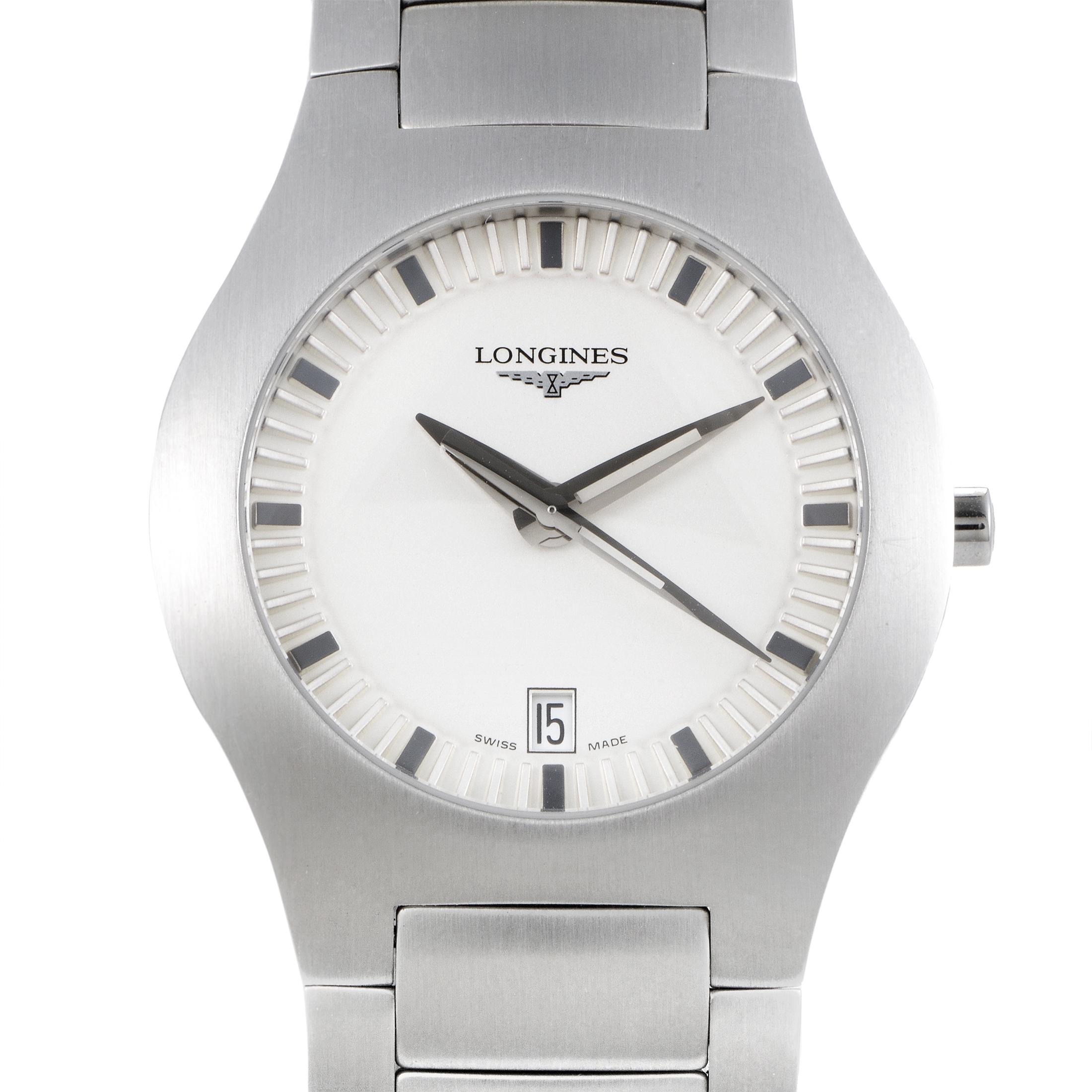 Opposition Men's Stainless Steel Quart Watch L3.617.4.72.6