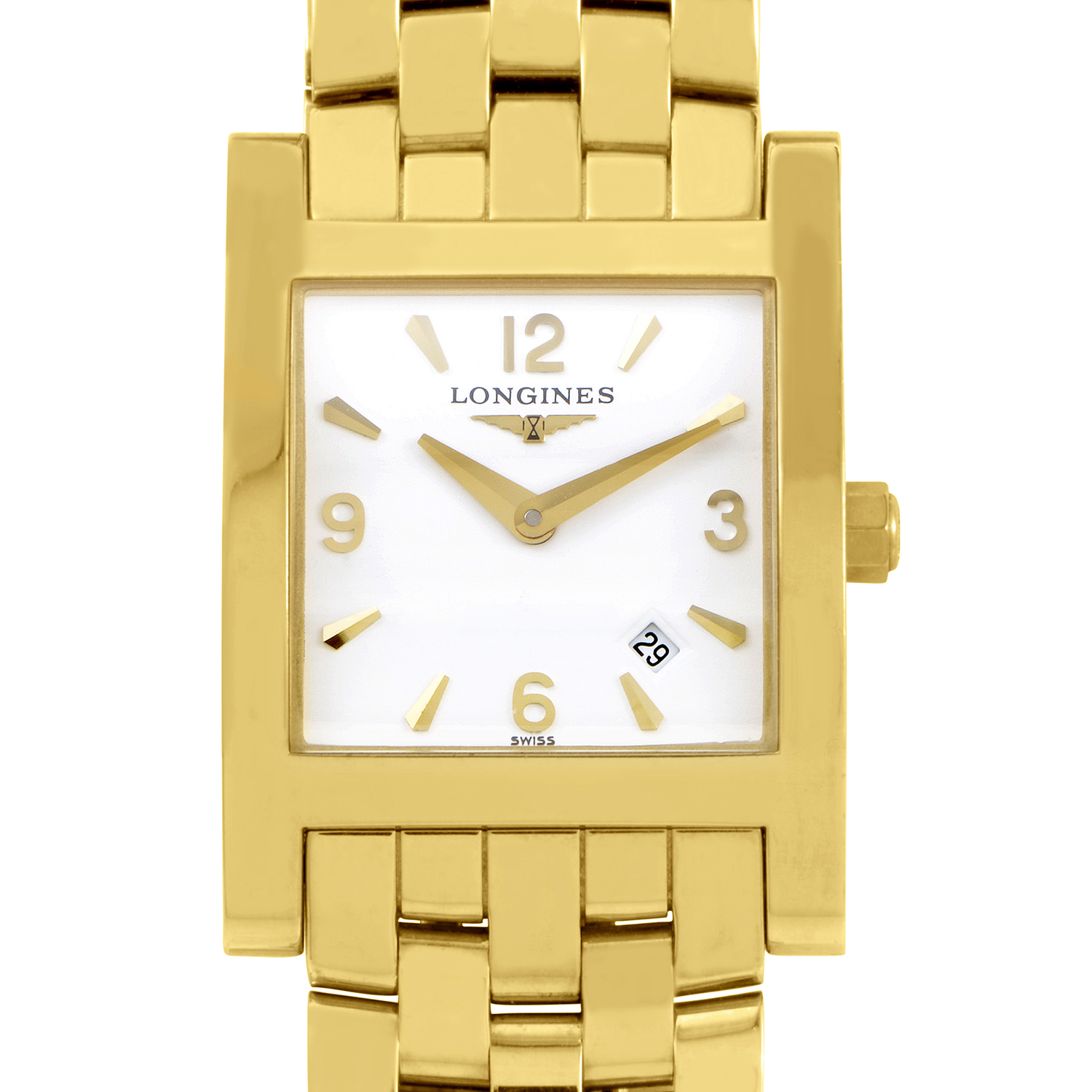 Ladies 18K Yellow Gold Quartz Watch L55036166