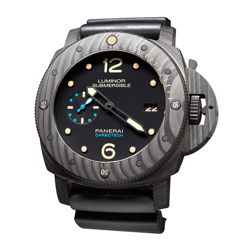 LUMINOR SUBMERSIBLE 1950 CARBOTECH ™ 3 days AUTOMATIC PAM00616