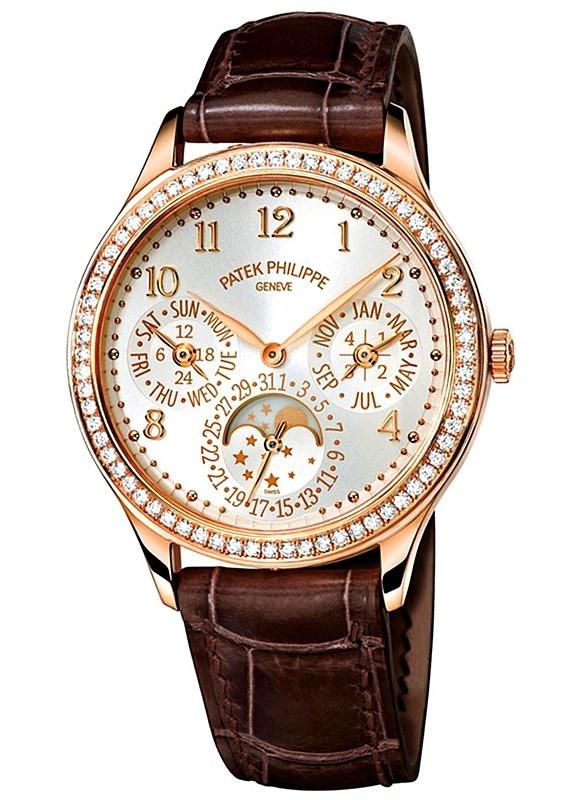 Ladies Perpetual Calendar Rose Gold 7140R-001