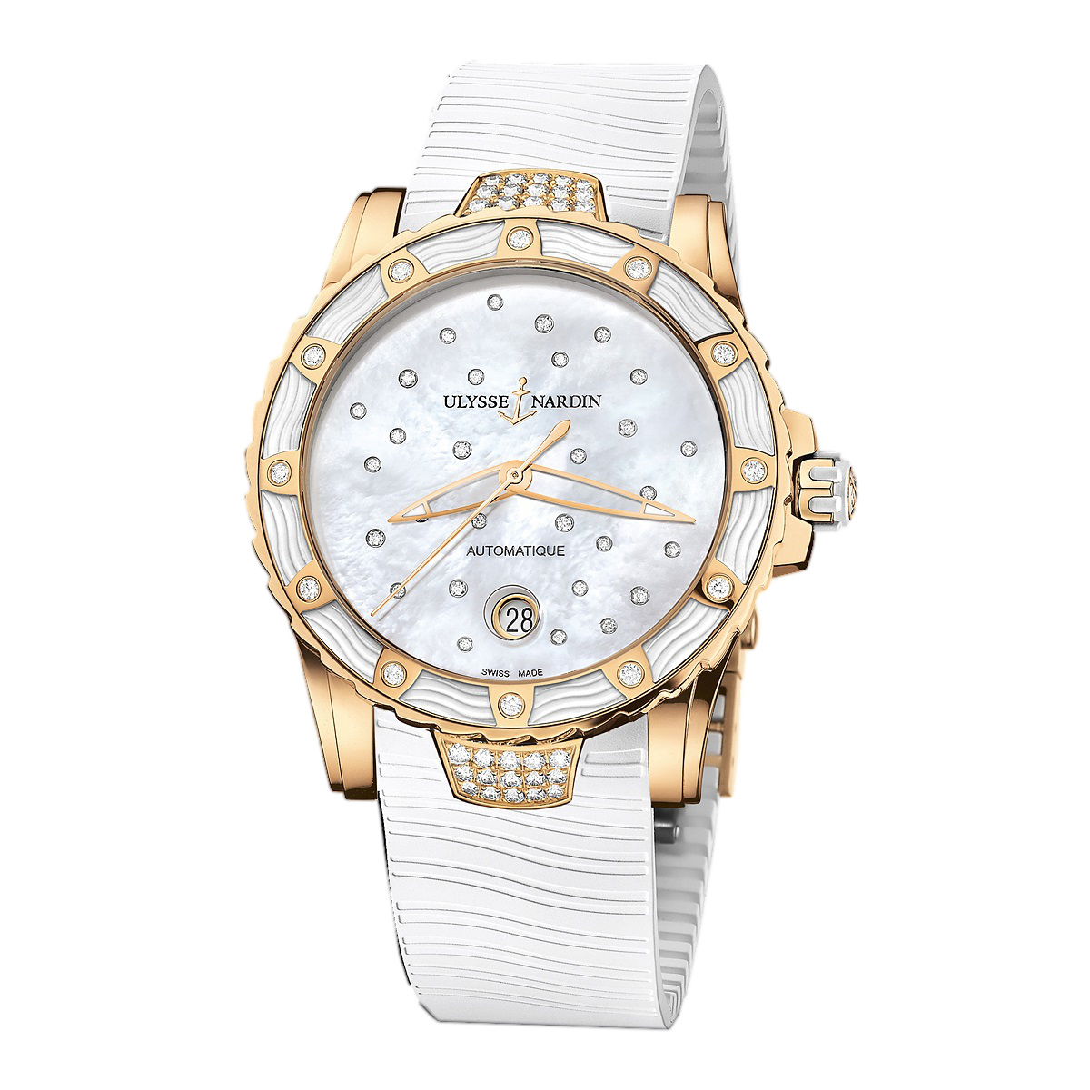 Marine Lady Diver Starry Night 40mm 8156-180E-3C/20 (Rose Gold)