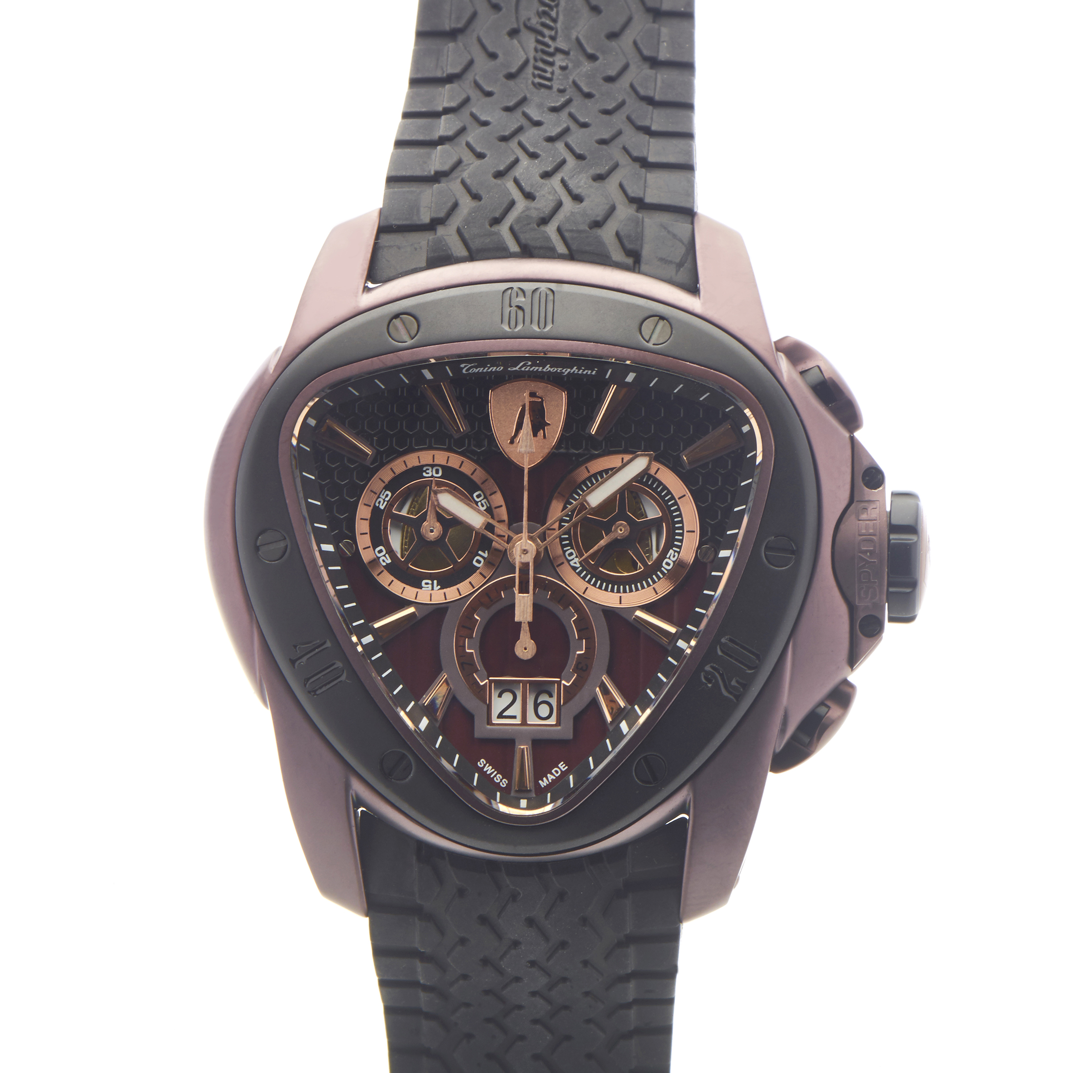 Spyder Men's Quartz Chronograph Watch 1100 1122