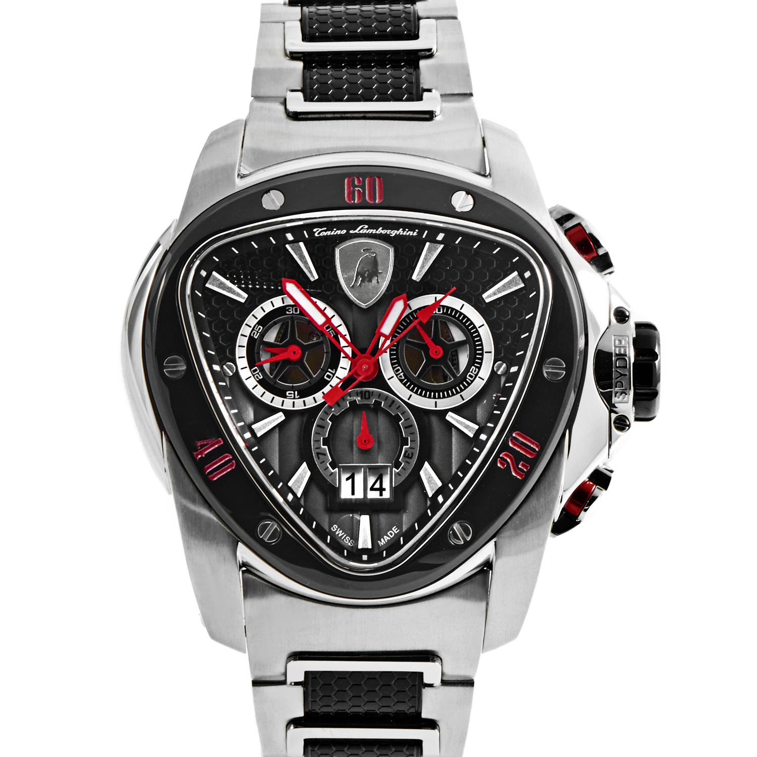 Men's Quartz Spyder Chronograph Watch 1100 1114