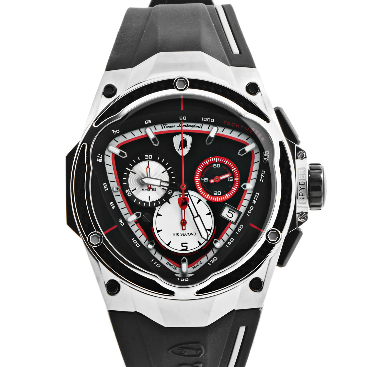 Spyder Red Line Men's Quartz Chronograph Watch 07