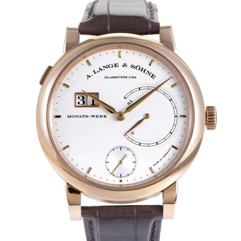 Lange 31 Men's Rose Gold Manual Watch 130.032