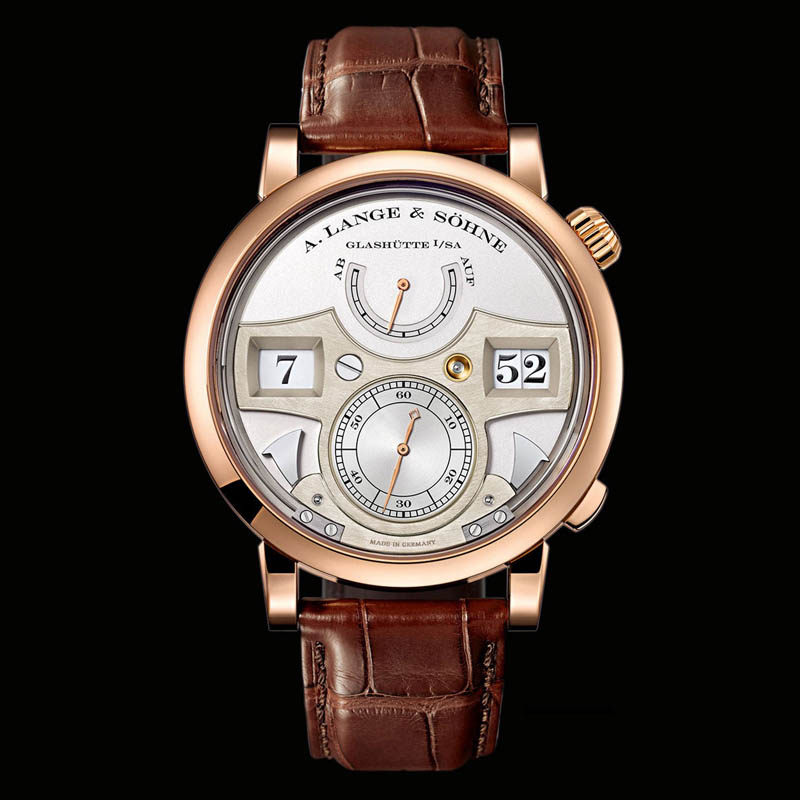 Lange Zeitwerk Striking Time in Rose Gold 145.032