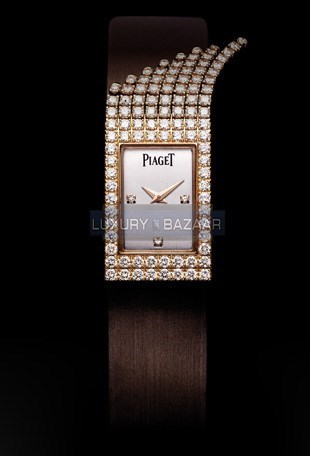 Limelight Fringe Motif Diamond Watch GOA34063
