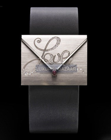 Limelight Secret Love Letter Diamond Watch GOA34100