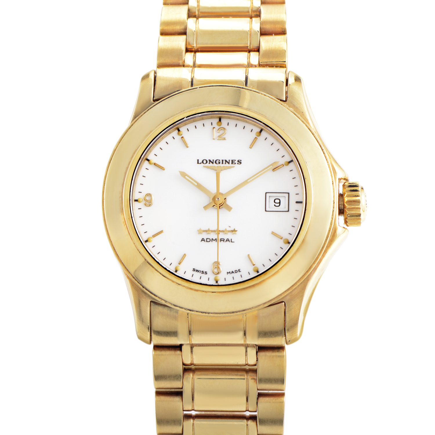 Ladies 18K Yellow Gold Quartz Watch L31046266