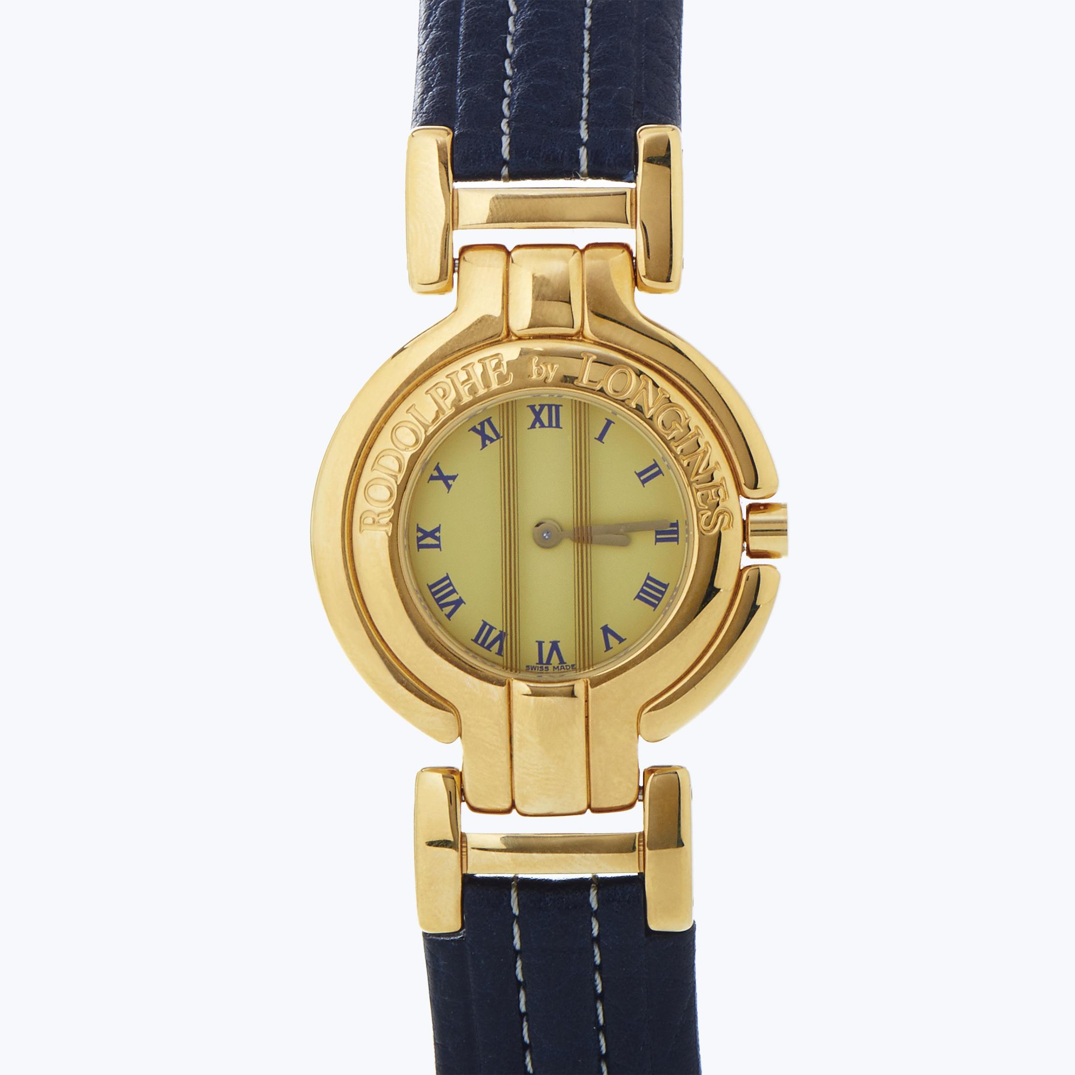 Rodolphe Women's Gold Plated Quartz Watch L4.292.7.91.3