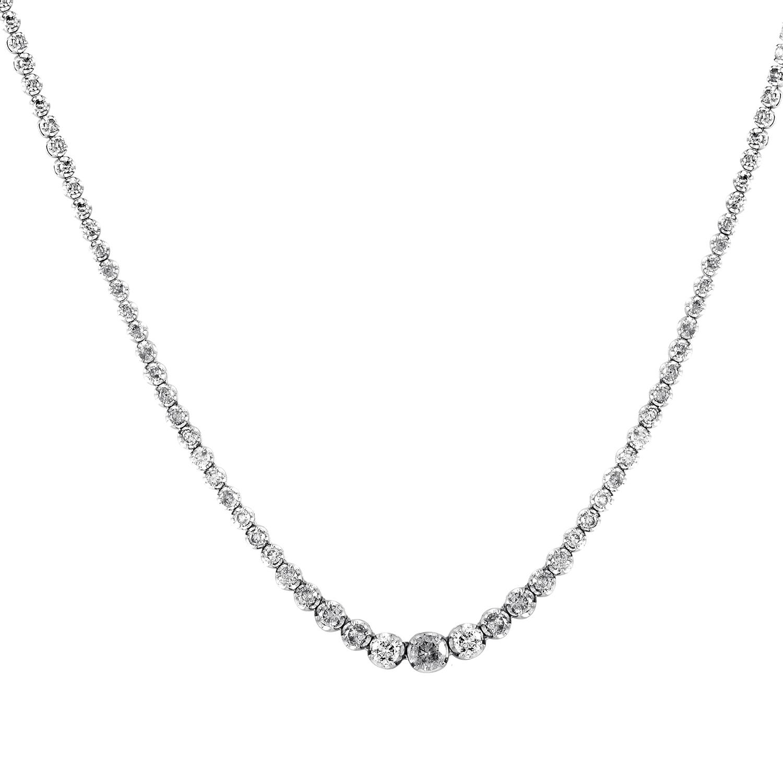 Platinum & Diamond Necklace MFC02-020916