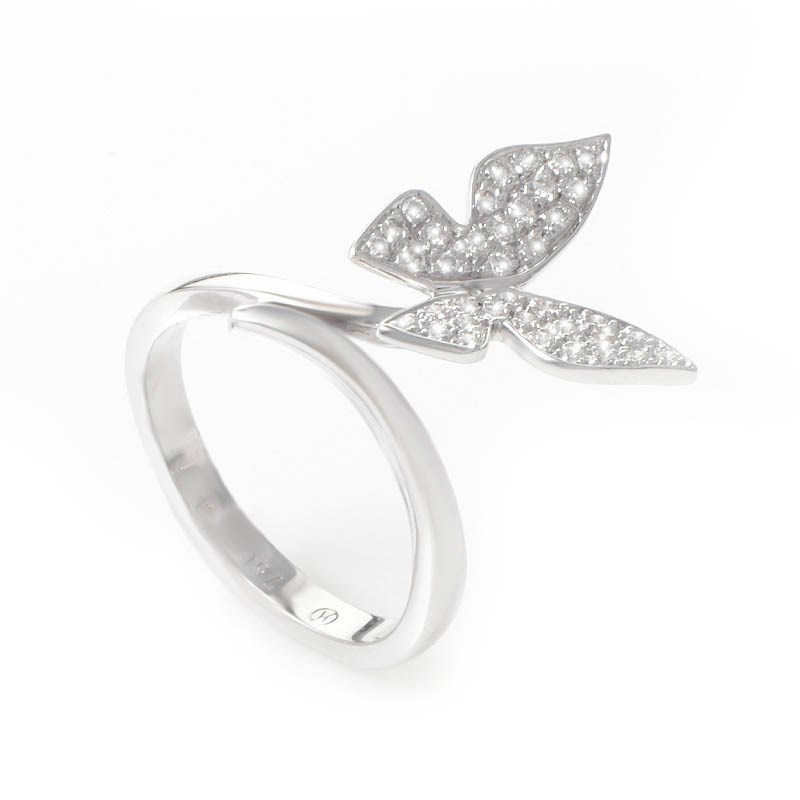 white gold jewellery white gold butterfly rings