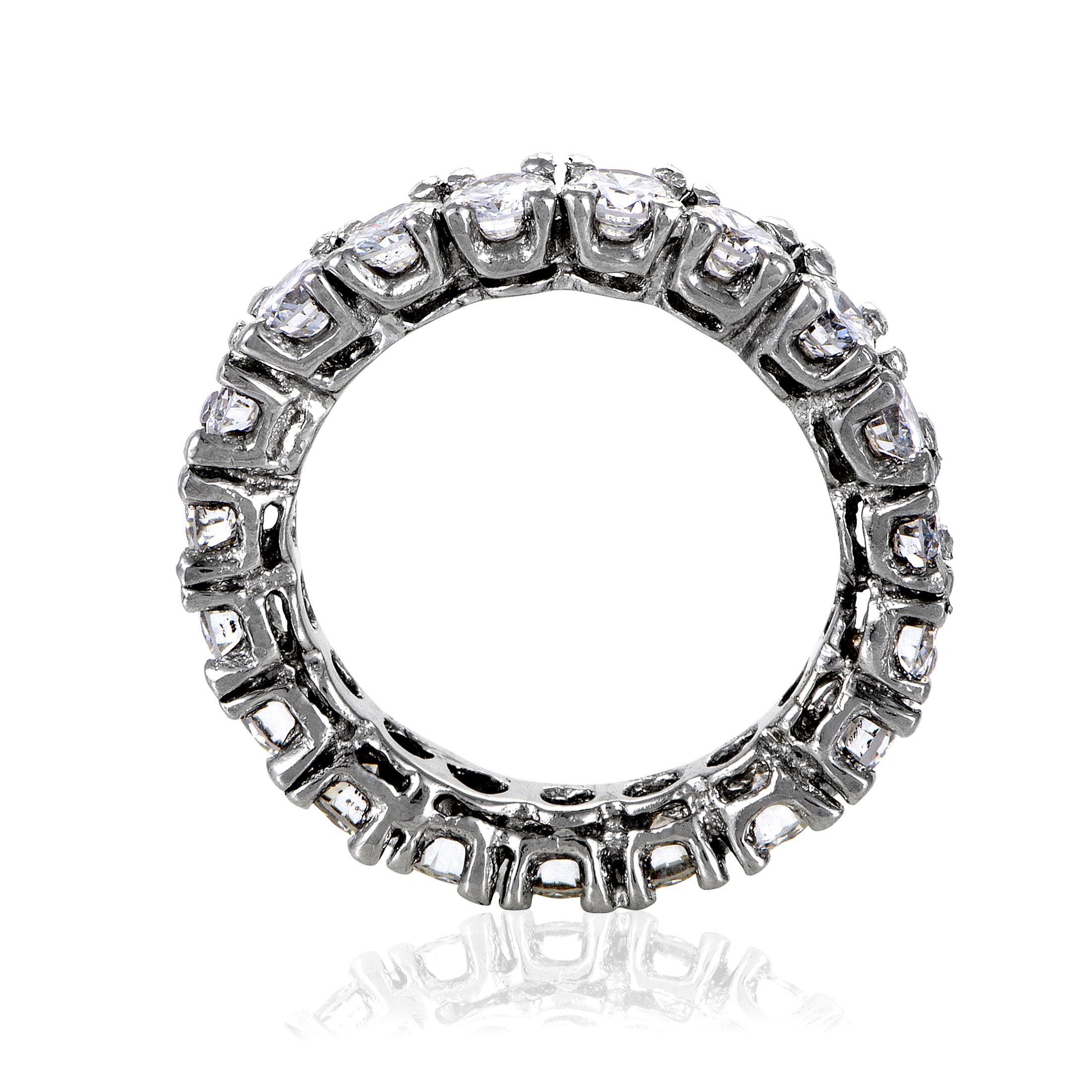 Diamond Eternity Platinum: Womens Platinum Diamond Eternity Band Ring