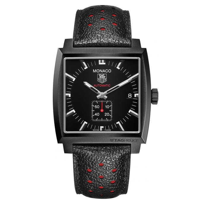 Monaco Calibre 6 Automatic Full Black WW2119.FC6338