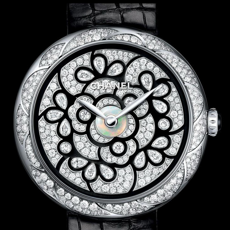 Mademoiselle Privé Jewelry Jardin de Camélia MPJJC/WG-4 (White Gold)