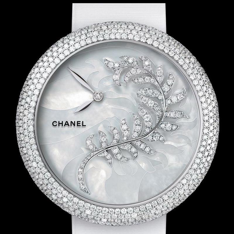 Mademoiselle Privé Jewelry Plumes de CHANEL MPJPC/WG-2 (White Gold)