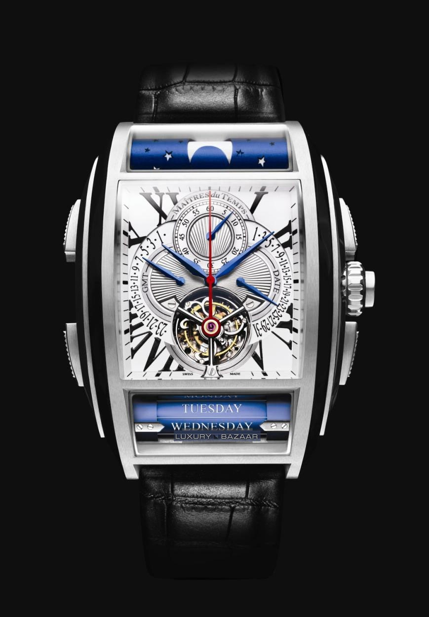 Chapter One Toubillon Chronograph C1T.55.3E.11-1