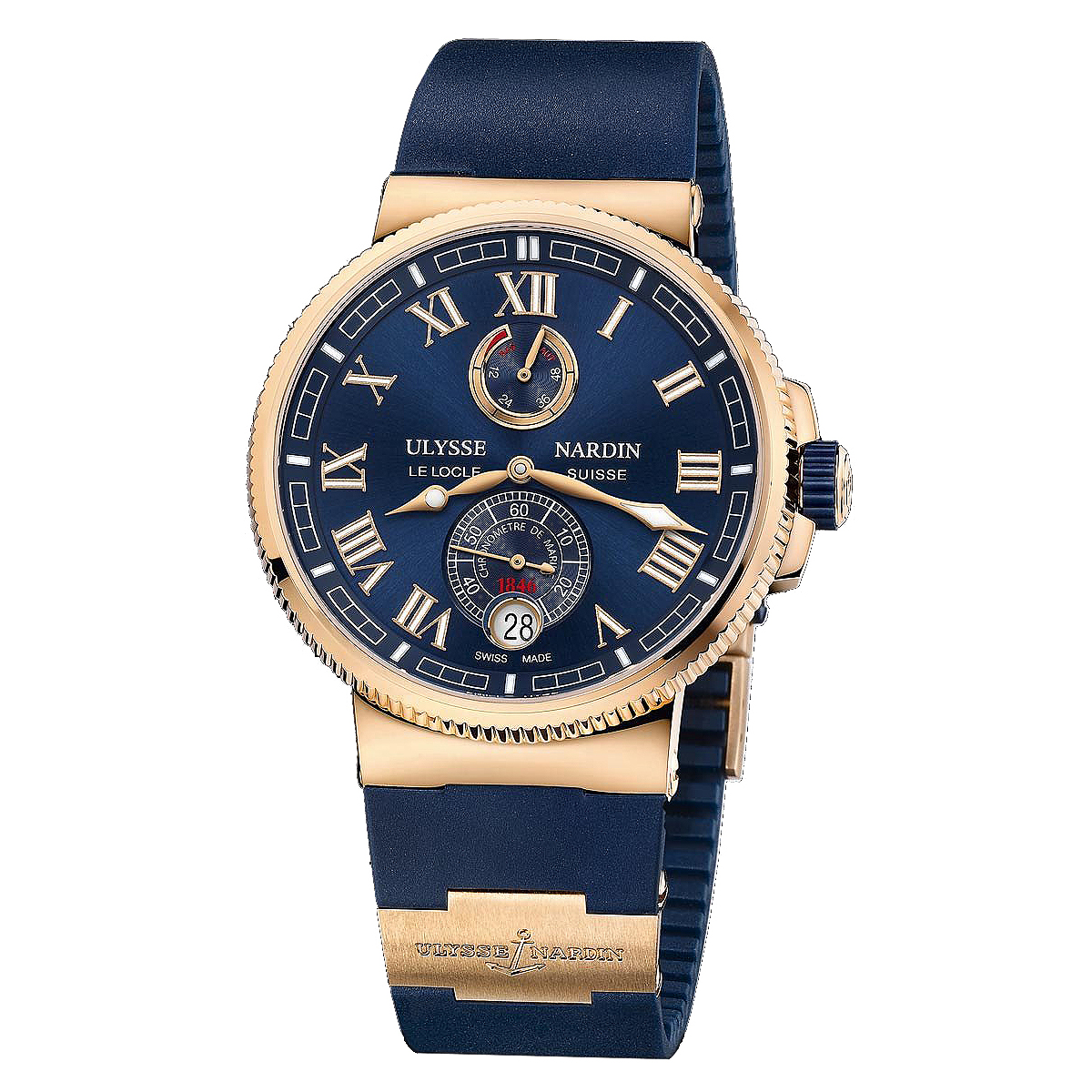 Marine Chronometer Manufacture 43mm 1186-126-3/43