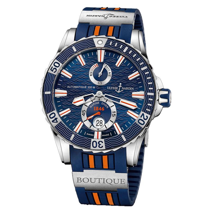 Marine Diver Chronometer 2014 44mm 263-10LE-3/953-BQ