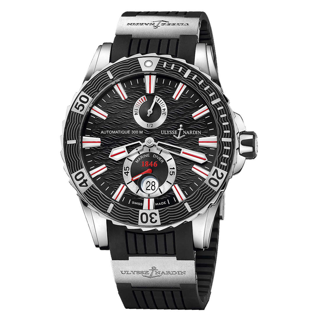 Marine Diver Chronometer 2014 44mm 263-10-3/92