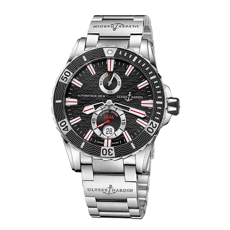 Marine Diver Chronometer 2014 44mm 263-10-7M/92