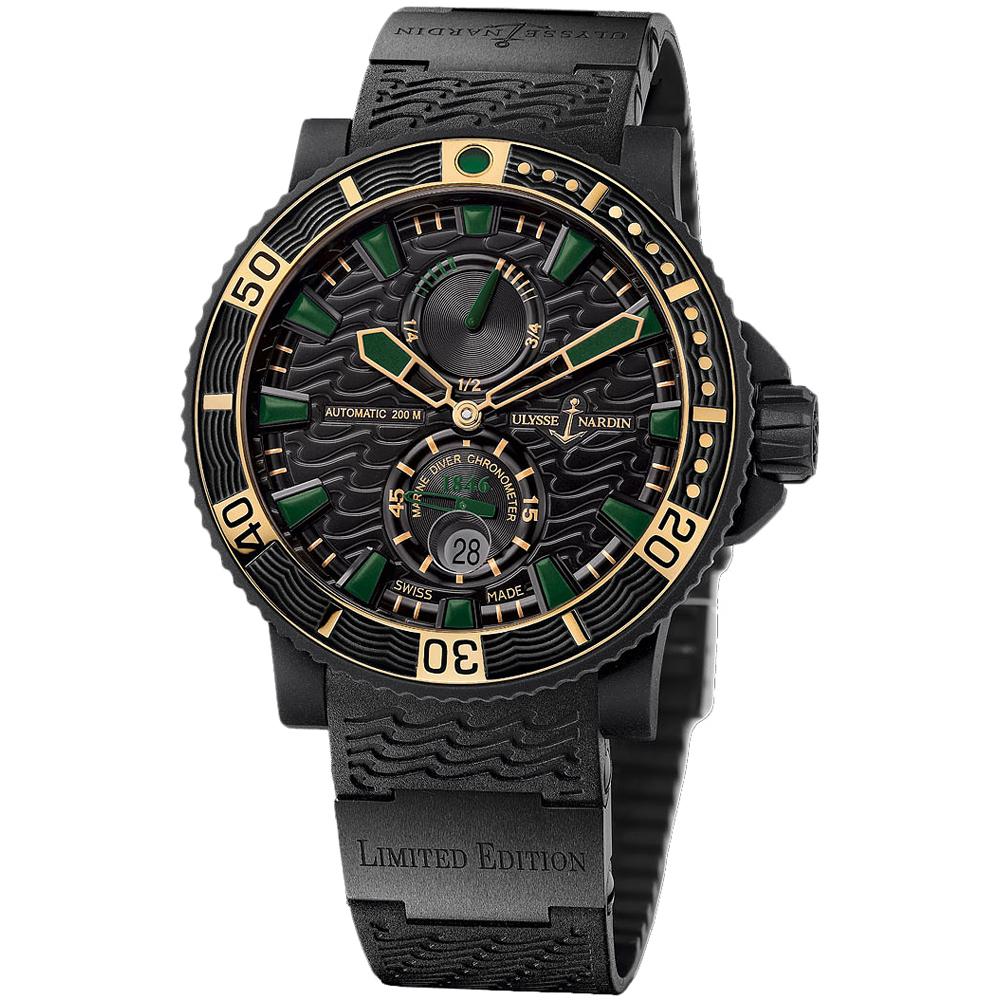 Marine Black Sea Chronometer 45.8mm 263-92LE-3C/928-RG