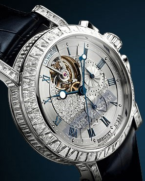 Marine Tourbillon High Jewelry Chronograph 5839BB/6D/9ZU DDOD