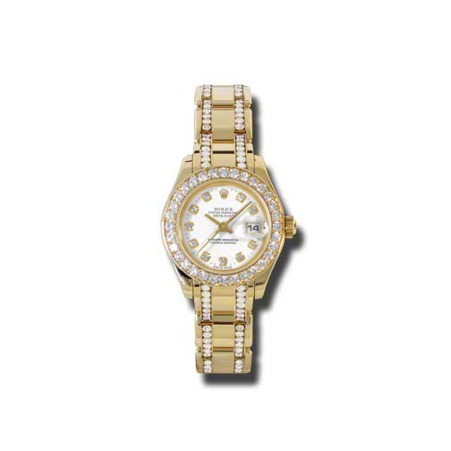 Masterpiece Oyster Perpetual Lady-Datejust Pearlmaster 80298.74948 wd
