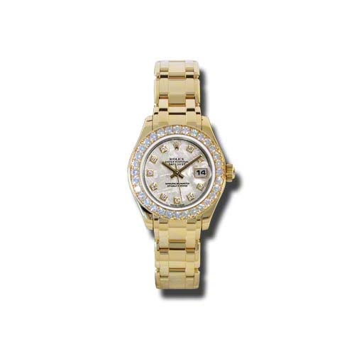 Masterpiece Oyster Perpetual Lady-Datejust Pearlmaster 80298 mtd