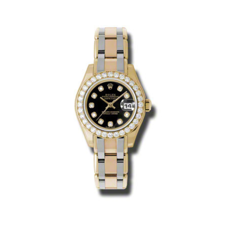Masterpiece Oyster Perpetual Lady-Datejust Pearlmaster 80298bic bkd