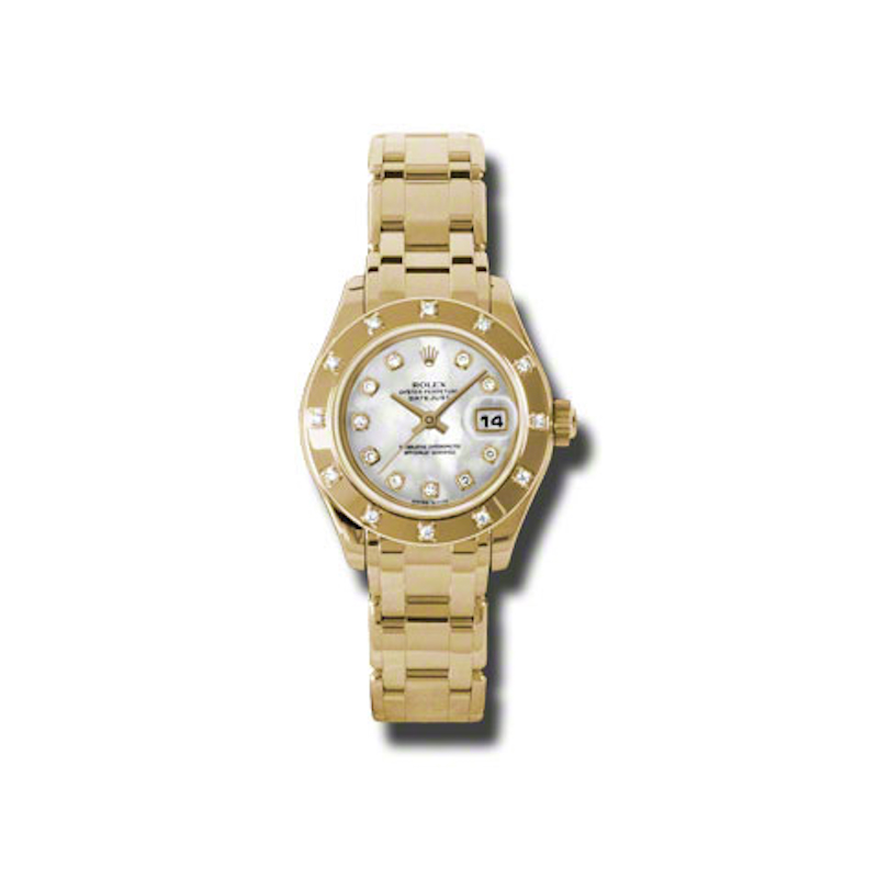 Masterpiece Oyster Perpetual Lady-Datejust Pearlmaster 80318 md