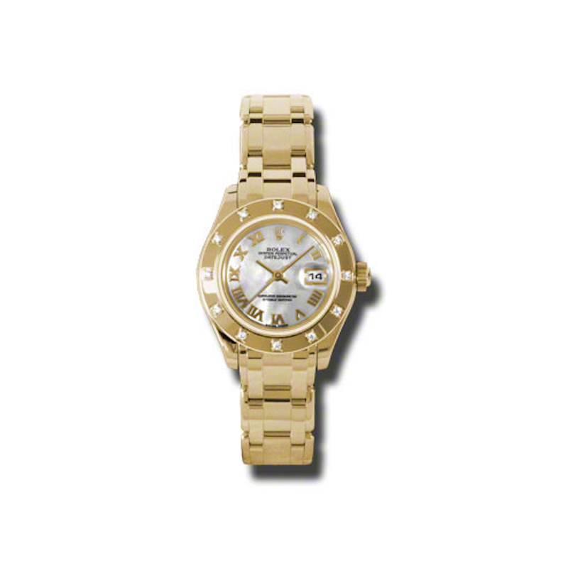 Masterpiece Oyster Perpetual Lady-Datejust Pearlmaster 80318 mr