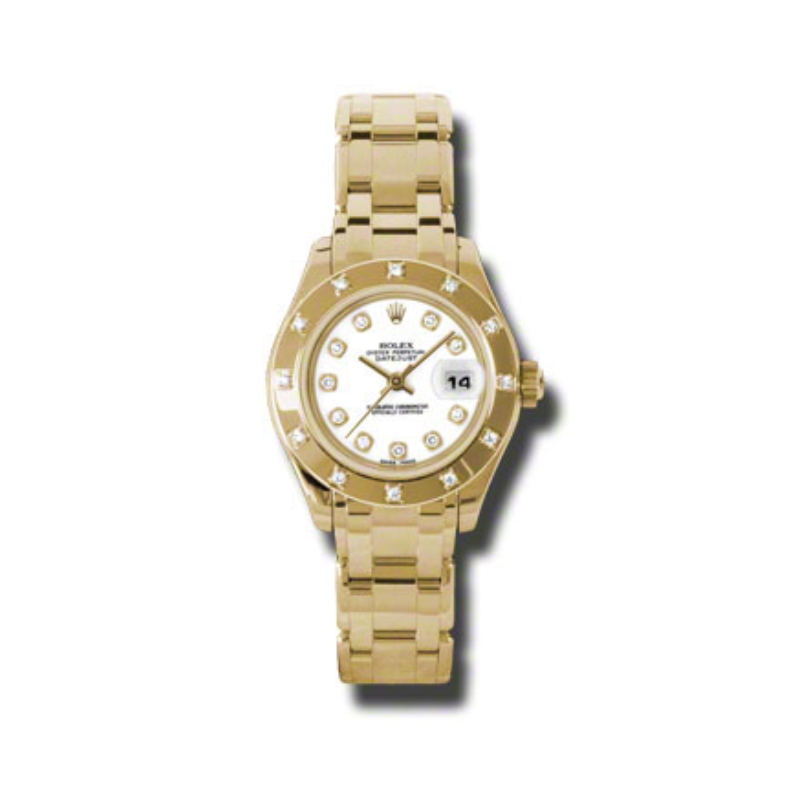 Masterpiece Oyster Perpetual Lady-Datejust Pearlmaster 80318 wd
