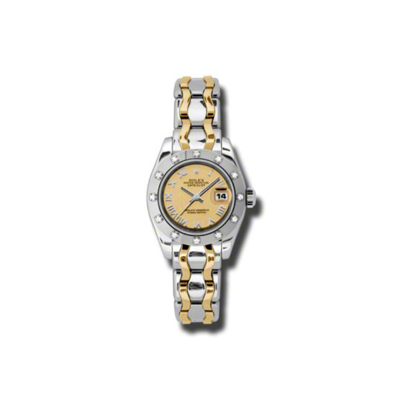Masterpiece Oyster Perpetual Lady-Datejust Pearlmaster 80319 chrbic
