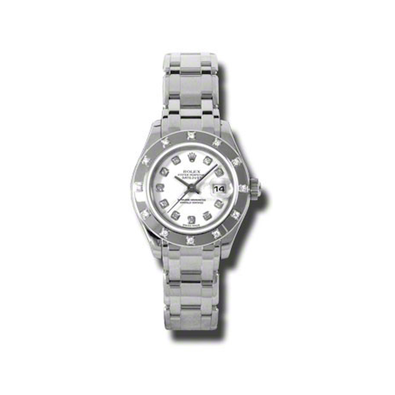 Masterpiece Oyster Perpetual Lady-Datejust Pearlmaster 80319 wd