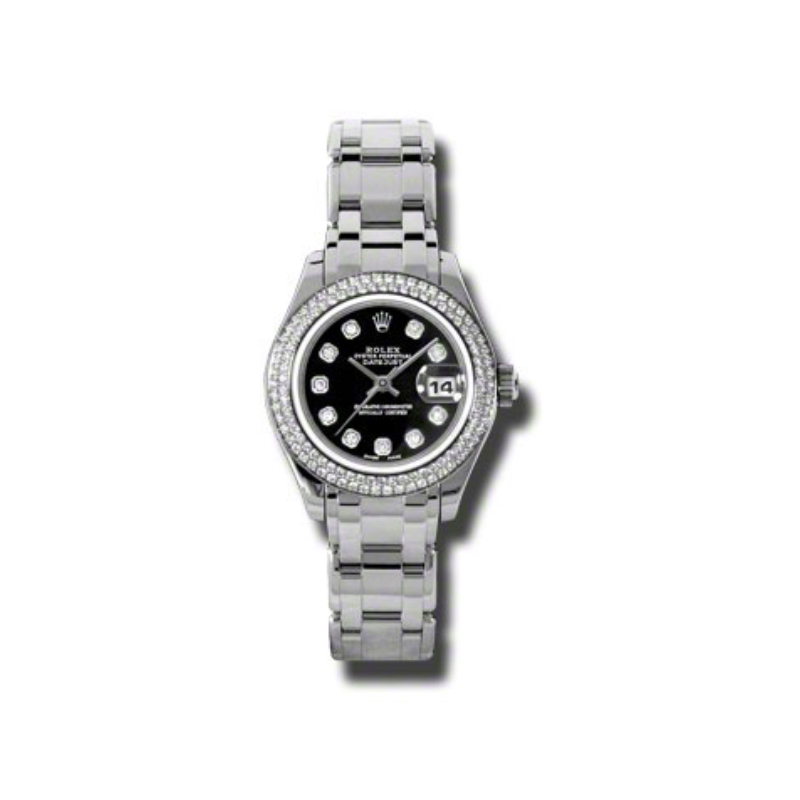 Masterpiece Oyster Perpetual Lady-Datejust Pearlmaster 80339 bkd