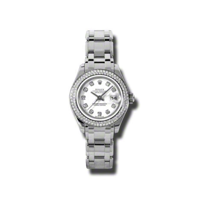 Masterpiece Oyster Perpetual Lady-Datejust Pearlmaster 80339 wd