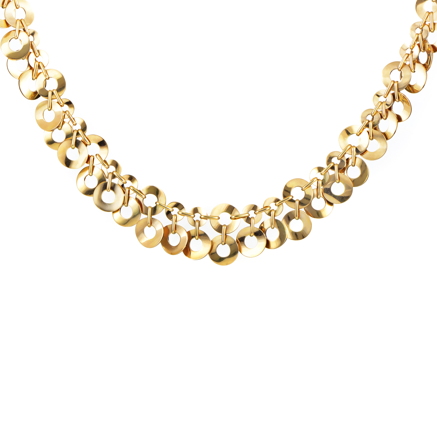 Mattioli Jewelry Women's 18K Yellow Gold Collar Toggle Necklace