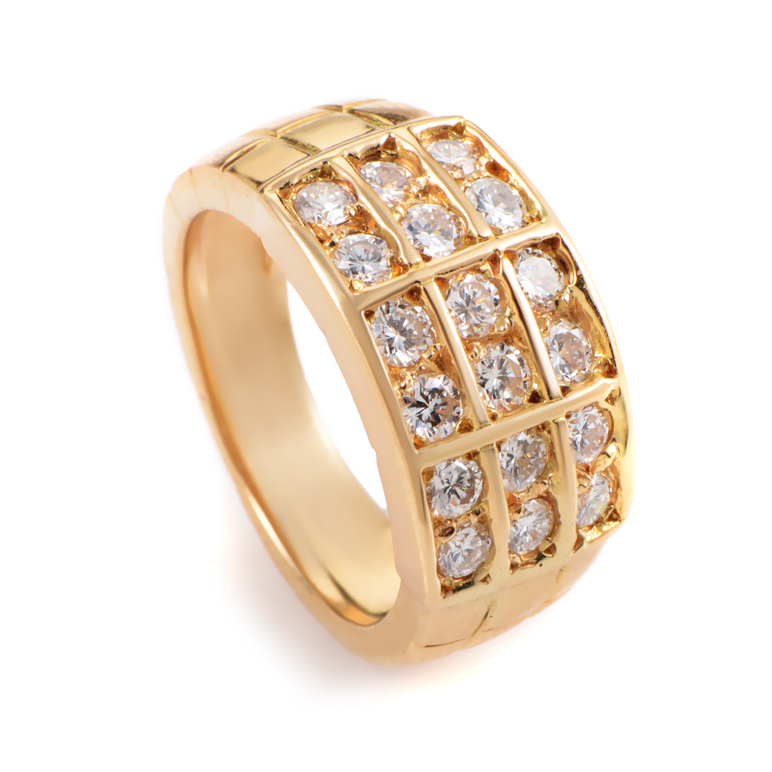 Mauboussin Women's 18K Yellow Gold Diamond Band Ring