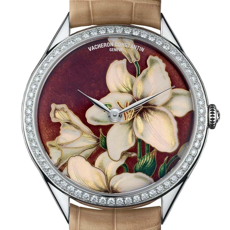 Métiers D'art Florilège White Lily 82550/000G-9853