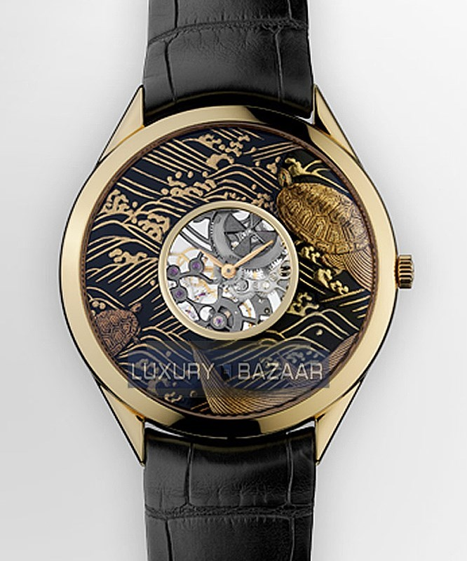 Metiers D'Art Turtle Lotus 33222/000R-9548