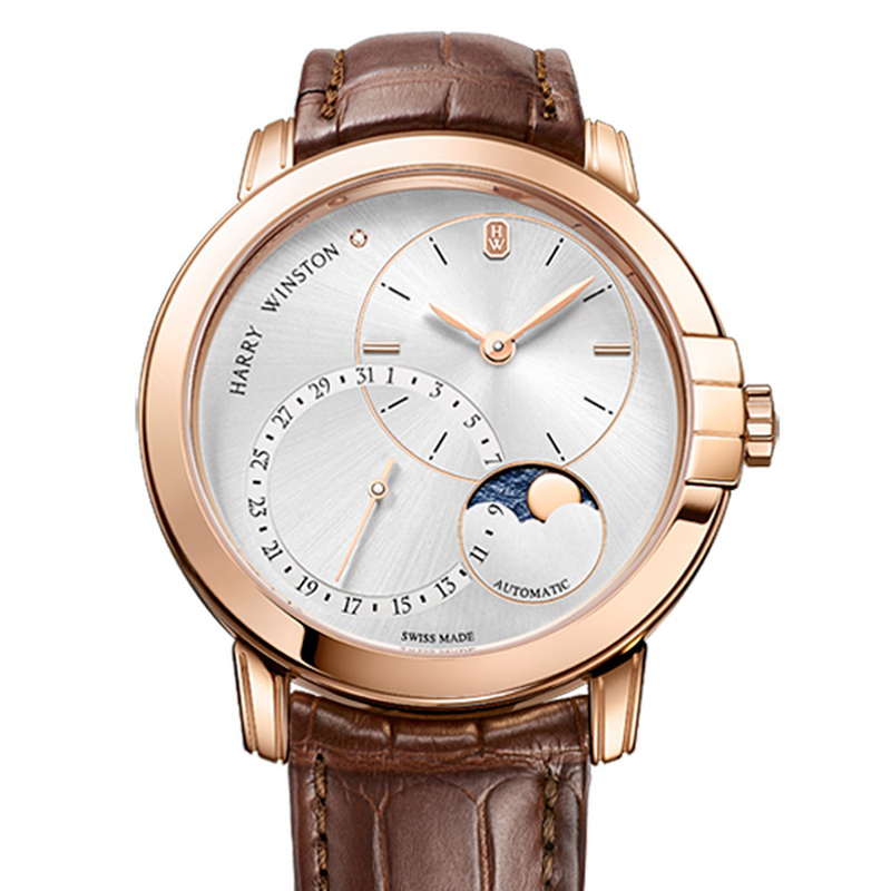 Midnight Date Moon Phase Automatic 42mm MIDAMP42RR003 (Rose Gold)
