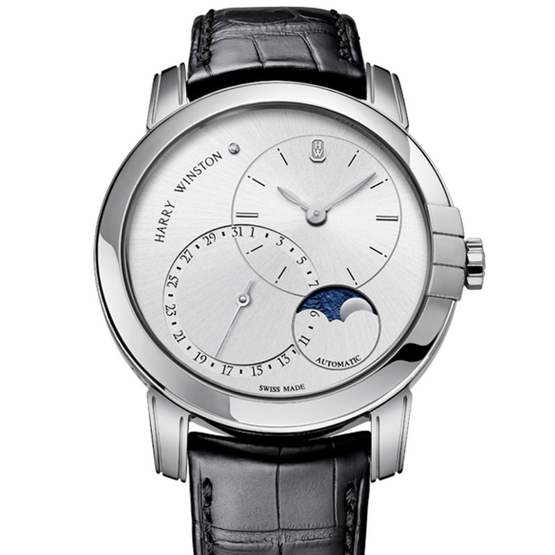 Midnight Date Moon Phase Automatic 42mm MIDAMP42WW003 (White Gold)