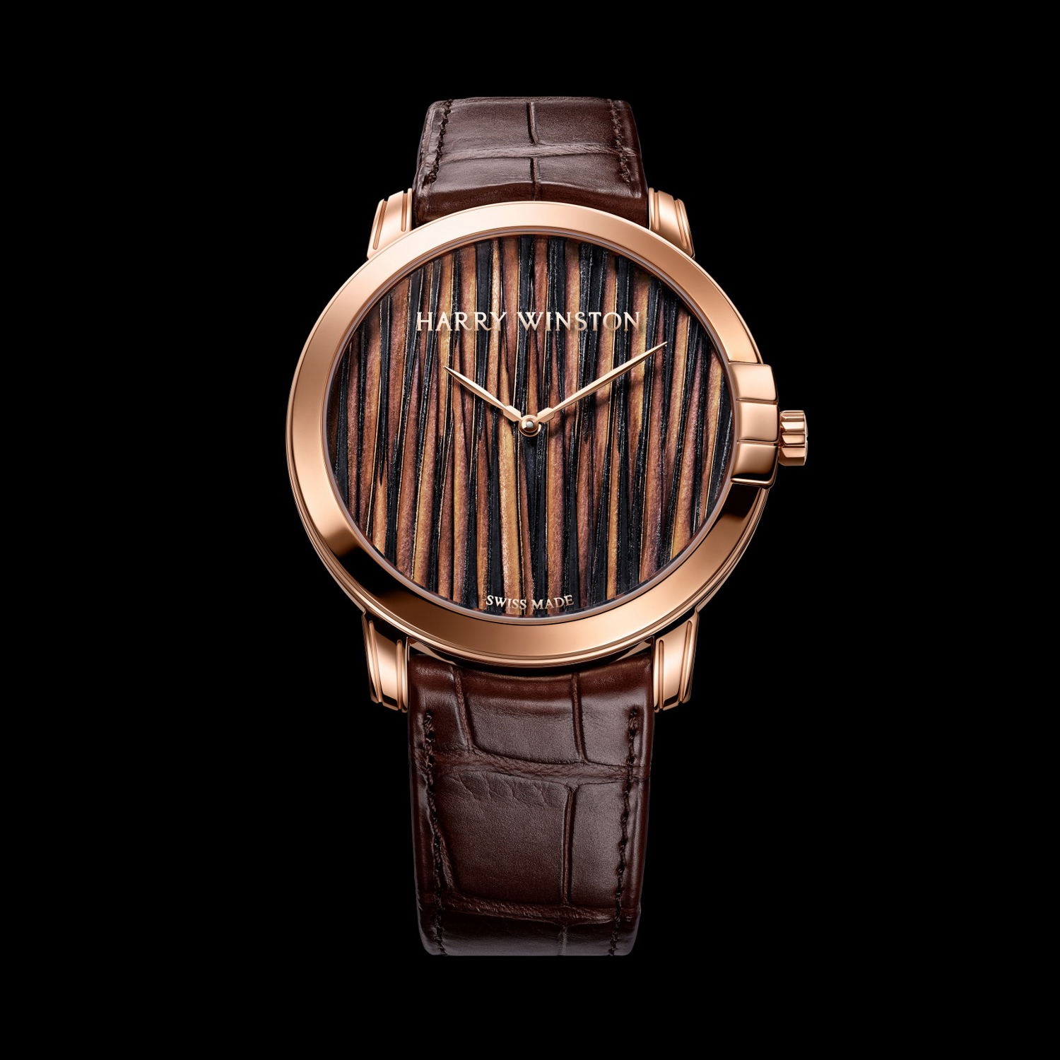 Midnight Feathers Automatic 42mm MIDAHM42RR002 (Rose Gold)