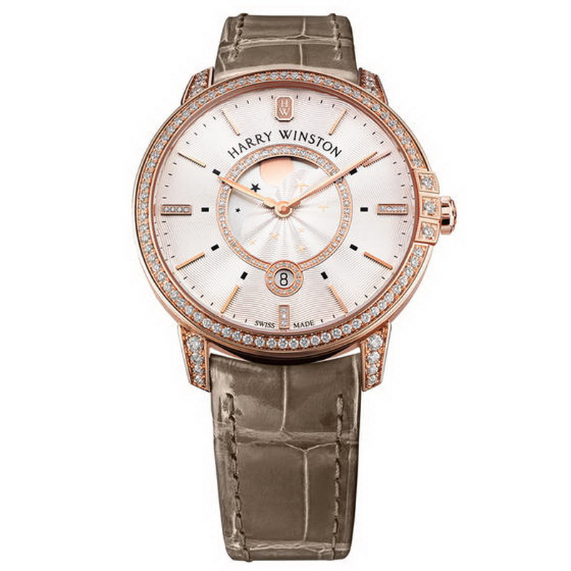Midnight Moon Phase 39 mm MIDQMP39RR002 (Rose Gold)
